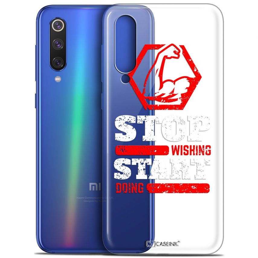 "Coque Gel Xiaomi Mi 9 SE (5.97"") Extra Fine Quote - Start Doing"
