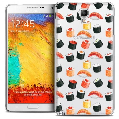 Coque Crystal Galaxy Note 3 Neo/Mini Extra Fine Foodie - Sushi
