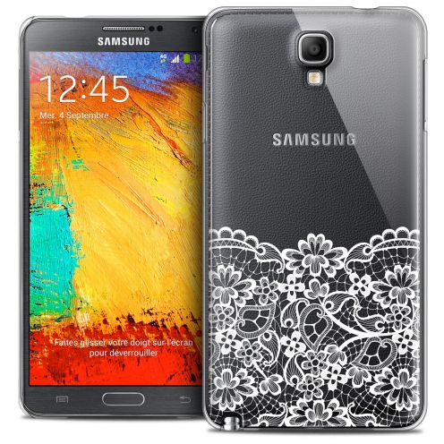 Coque Crystal Galaxy Note 3 Neo/Mini Extra Fine Spring - Bas dentelle