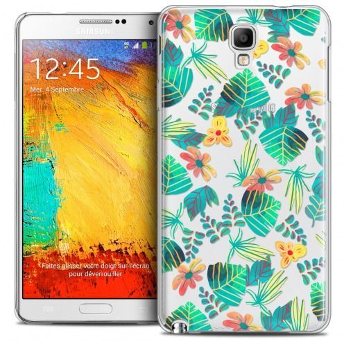 Coque Crystal Galaxy Note 3 Neo/Mini Extra Fine Spring - Tropical