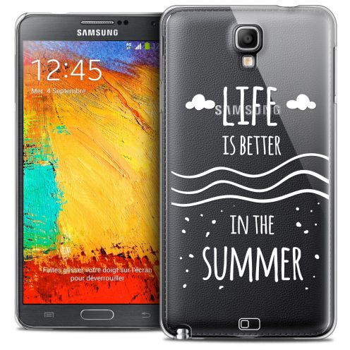 Coque Crystal Galaxy Note 3 Neo/Mini Extra Fine Summer - Life's Better