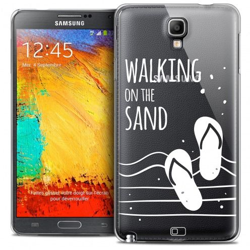 Coque Crystal Galaxy Note 3 Neo/Mini Extra Fine Summer - Walking on the Sand