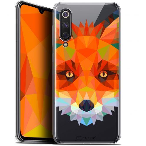 "Coque Gel Xiaomi Mi 9 SE (5.97"") Extra Fine Polygon Animals - Renard"