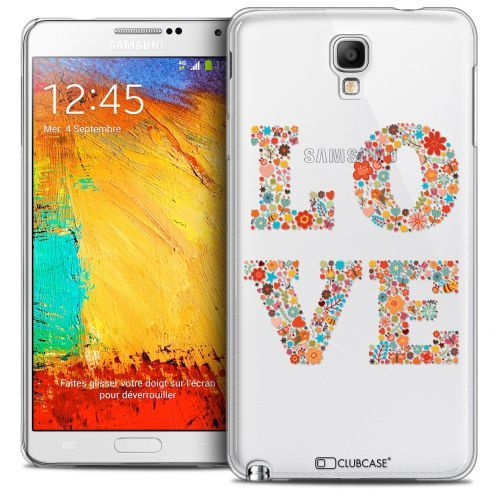 Coque Crystal Galaxy Note 3 Neo/Mini Extra Fine Summer - Love Flowers