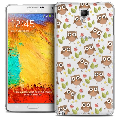 Coque Crystal Galaxy Note 3 Neo/Mini Extra Fine Summer - Hibou