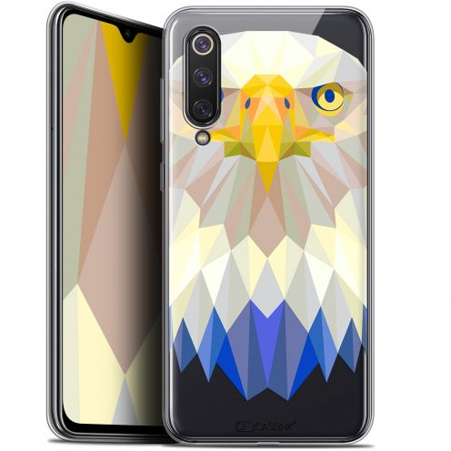 "Coque Gel Xiaomi Mi 9 SE (5.97"") Extra Fine Polygon Animals - Aigle"