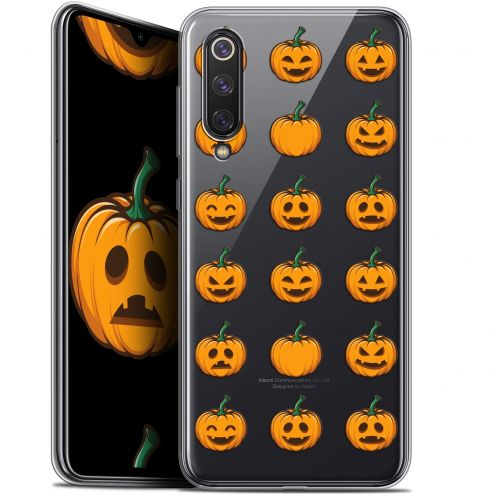 "Coque Gel Xiaomi Mi 9 SE (5.97"") Extra Fine Halloween - Smiley Citrouille"