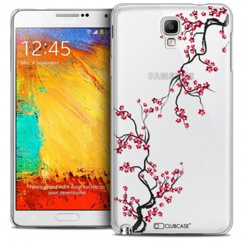 Coque Crystal Galaxy Note 3 Neo/Mini Extra Fine Summer - Sakura