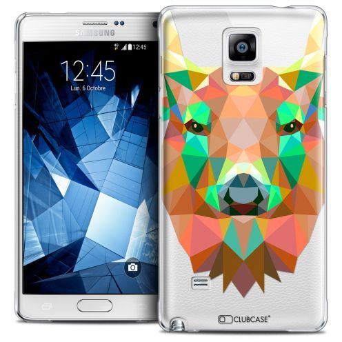 Coque Crystal Galaxy Note 4 Extra Fine Polygon Animals - Cerf