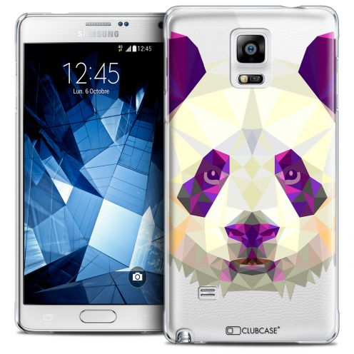 Coque Crystal Galaxy Note 4 Extra Fine Polygon Animals - Panda