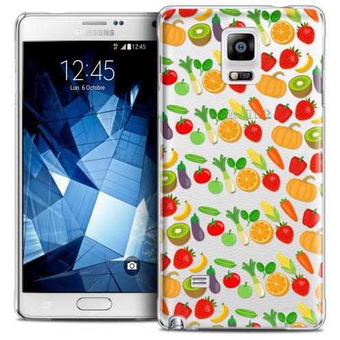 Coque Crystal Galaxy Note 4 Extra Fine Foodie - Healthy