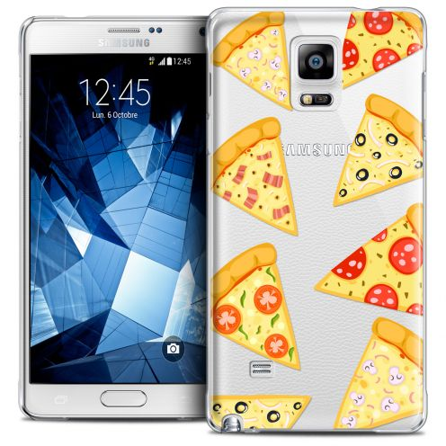 Coque Crystal Galaxy Note 4 Extra Fine Foodie - Pizza