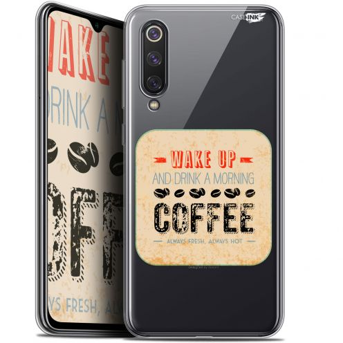 "Coque Gel Xiaomi Mi 9 SE (5.97"") Extra Fine Motif - Wake Up With Coffee"