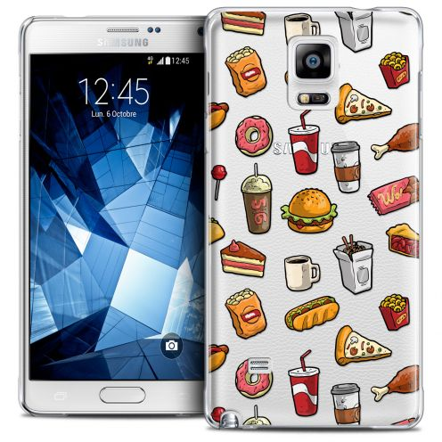 Coque Crystal Galaxy Note 4 Extra Fine Foodie - Fast Food
