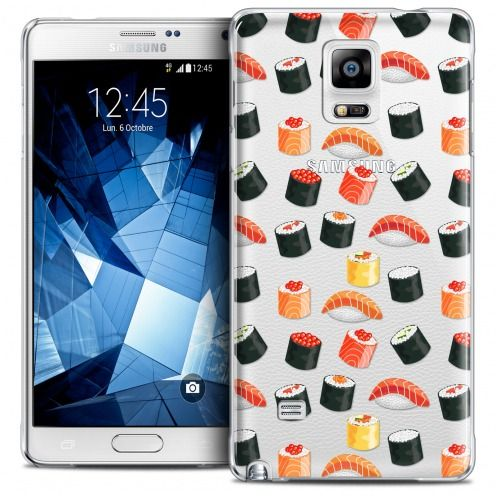 Coque Crystal Galaxy Note 4 Extra Fine Foodie - Sushi