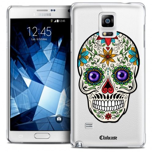 Coque Crystal Galaxy Note 4 Extra Fine Skull - Maria's Flower