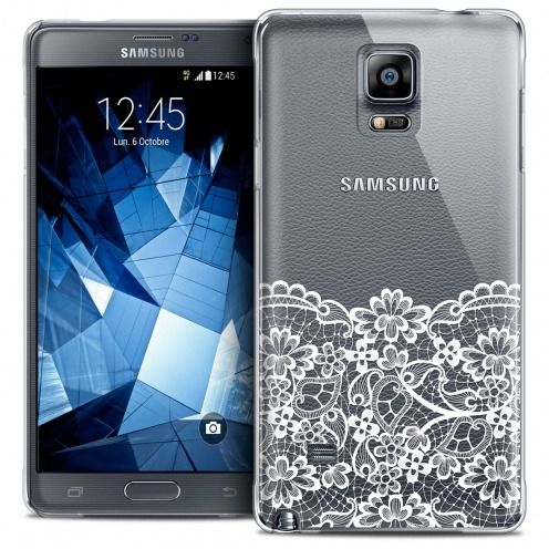 Coque Crystal Galaxy Note 4 Extra Fine Spring - Bas dentelle