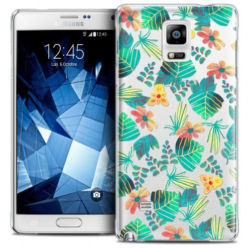 Coque Crystal Galaxy Note 4 Extra Fine Spring - Tropical