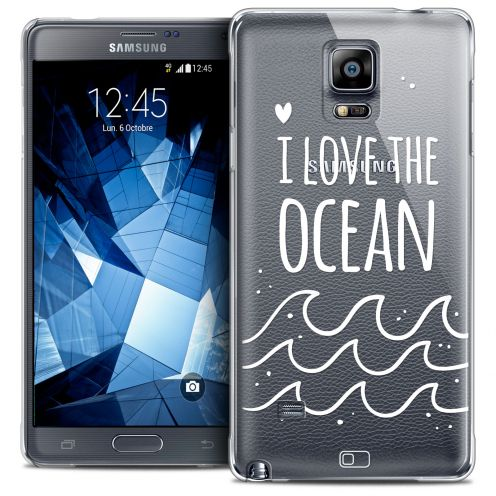 Coque Crystal Galaxy Note 4 Extra Fine Summer - I Love Ocean