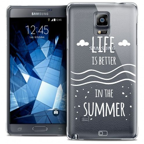 Coque Crystal Galaxy Note 4 Extra Fine Summer - Life's Better