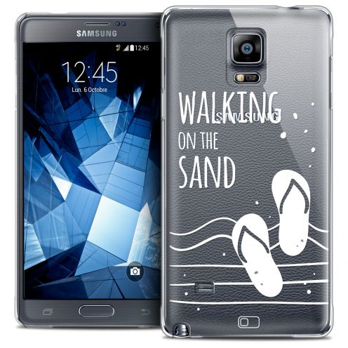 Coque Crystal Galaxy Note 4 Extra Fine Summer - Walking on the Sand