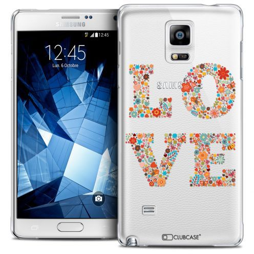 Coque Crystal Galaxy Note 4 Extra Fine Summer - Love Flowers