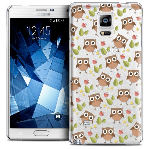 Coque Crystal Galaxy Note 4 Extra Fine Summer - Hibou