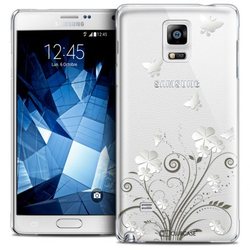Coque Crystal Galaxy Note 4 Extra Fine Summer - Papillons