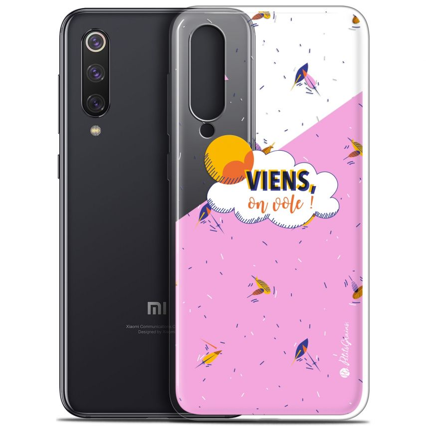 "Coque Gel Xiaomi Mi 9 SE (5.97"") Extra Fine Petits Grains® - VIENS, On Vole !"