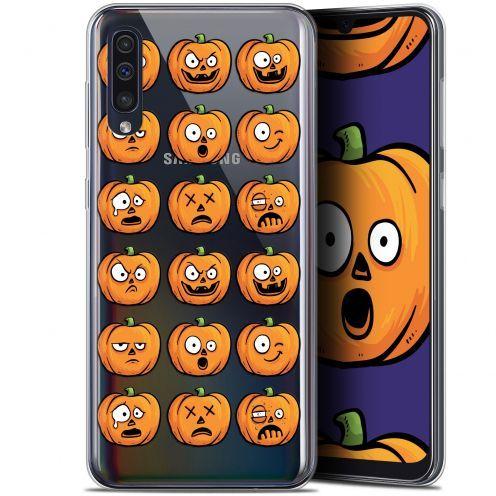 "Coque Gel Samsung Galaxy A50 (6.4"") Extra Fine Halloween - Cartoon Citrouille"
