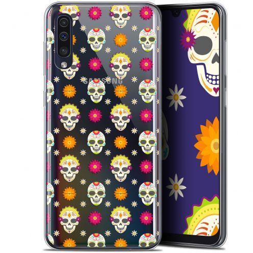 "Coque Gel Samsung Galaxy A50 (6.4"") Extra Fine Halloween - Skull Halloween"