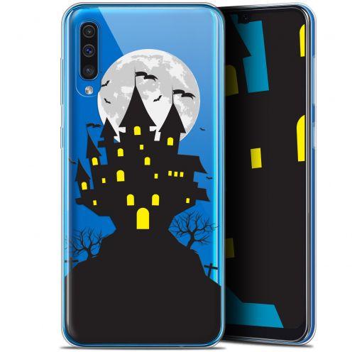 "Coque Gel Samsung Galaxy A50 (6.4"") Extra Fine Halloween - Castle Scream"