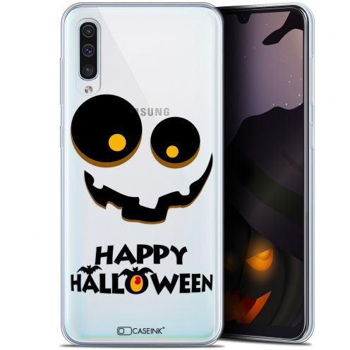 "Coque Gel Samsung Galaxy A50 (6.4"") Extra Fine Halloween - Happy"