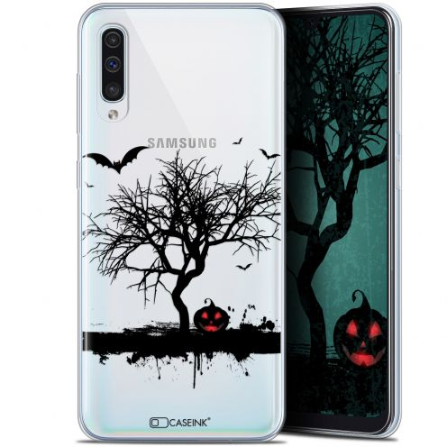 "Coque Gel Samsung Galaxy A50 (6.4"") Extra Fine Halloween - Devil's Tree"