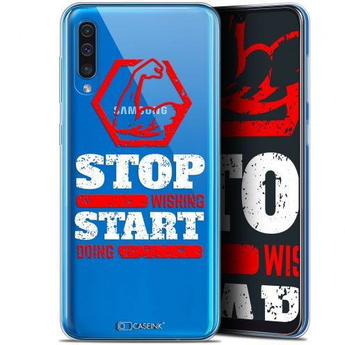 """Coque Gel Samsung Galaxy A50 (6.4"""") Extra Fine Quote - Start Doing"""