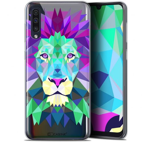 "Coque Gel Samsung Galaxy A50 (6.4"") Extra Fine Polygon Animals - Lion"