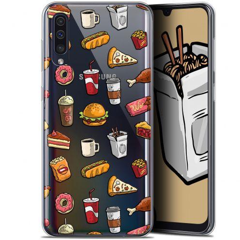 """Coque Gel Samsung Galaxy A50 (6.4"""") Extra Fine Foodie - Fast Food"""