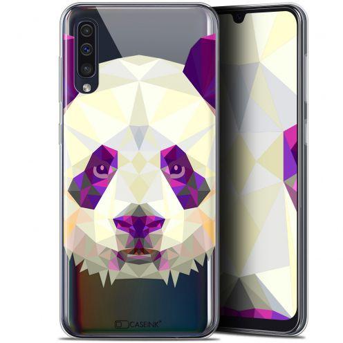 "Coque Gel Samsung Galaxy A50 (6.4"") Extra Fine Polygon Animals - Panda"