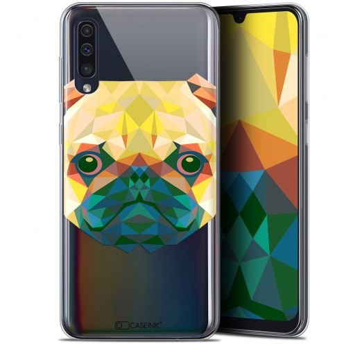 "Coque Gel Samsung Galaxy A50 (6.4"") Extra Fine Polygon Animals - Chien"