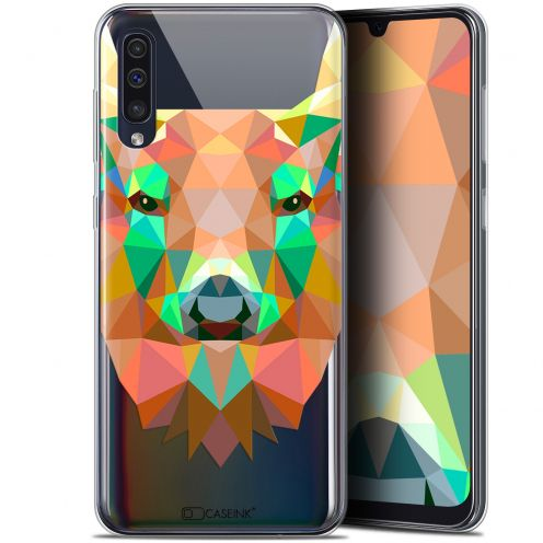 "Coque Gel Samsung Galaxy A50 (6.4"") Extra Fine Polygon Animals - Cerf"
