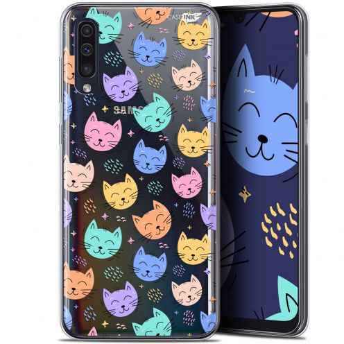 "Coque Gel Samsung Galaxy A50 (6.4"") Extra Fine Motif -  Chat Dormant"