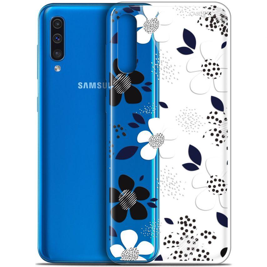 "Coque Gel Samsung Galaxy A50 (6.4"") Extra Fine Motif - Marimeko Style"
