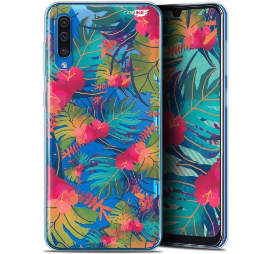 "Coque Gel Samsung Galaxy A50 (6.4"") Extra Fine Motif - Couleurs des Tropiques"