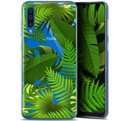 """Coque Gel Samsung Galaxy A50 (6.4"""") Extra Fine Motif - Plantes des Tropiques"""