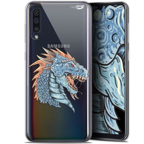 "Coque Gel Samsung Galaxy A50 (6.4"") Extra Fine Motif - Dragon Draw"