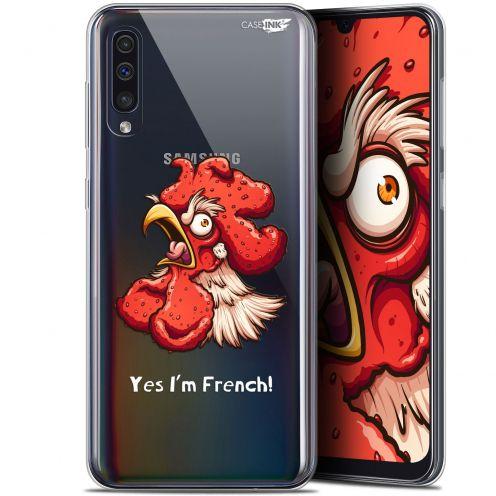 """Coque Gel Samsung Galaxy A50 (6.4"""") Extra Fine Motif - I'm French Coq"""