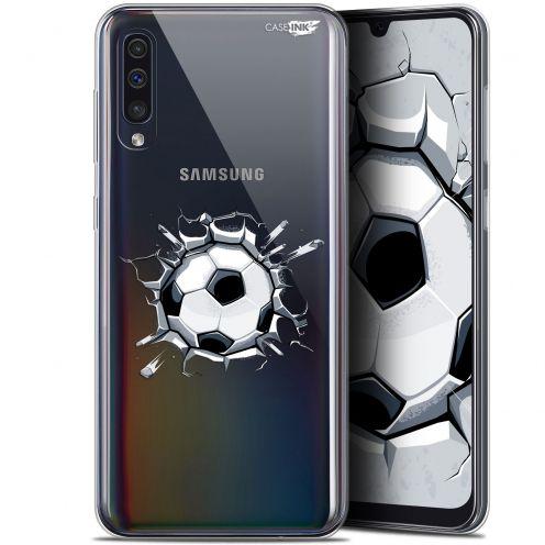 """Coque Gel Samsung Galaxy A50 (6.4"""") Extra Fine Motif - Le Balon de Foot"""