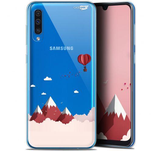 """Coque Gel Samsung Galaxy A50 (6.4"""") Extra Fine Motif - Montagne En Montgolfière"""