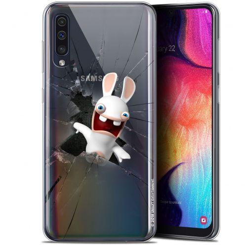 "Coque Gel Samsung Galaxy A50 (6.4"") Extra Fine Lapins Crétins™ - Breaking Glass"