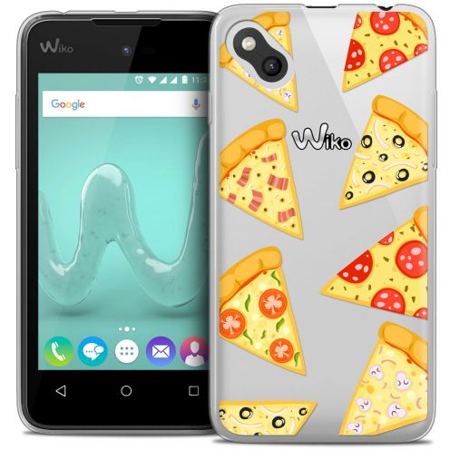 Coque Crystal Gel Wiko Sunny Extra Fine Foodie - Pizza